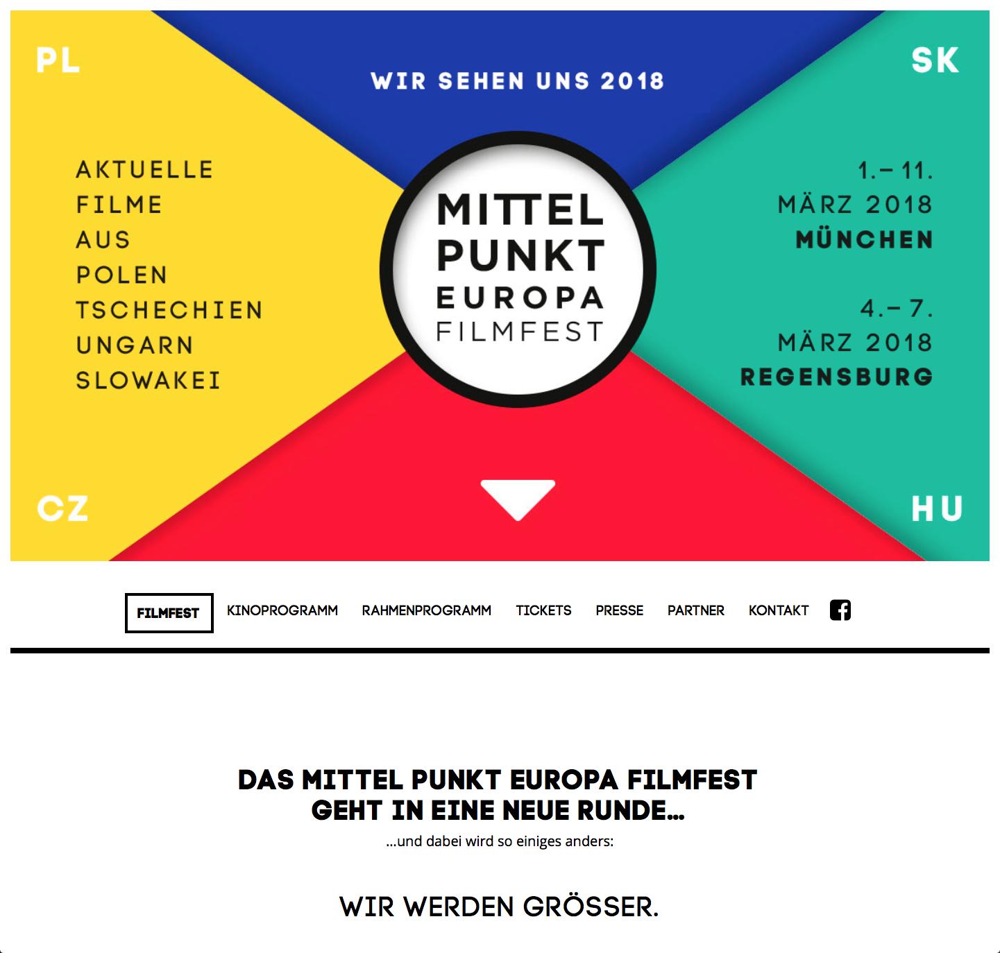 one-page Mittelpunkt Europa