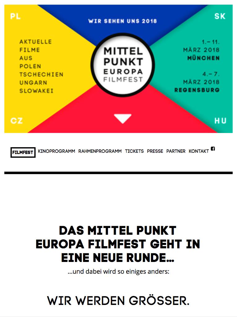 one-page Mittelpunkt Europa - ipad