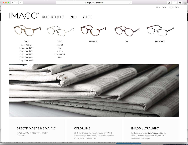 imago eyewear